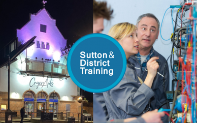 Construction and Performing Arts at Sutton and District Training